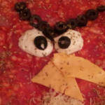 Hoy preparamos una pizza de los Angry Birds con los niños