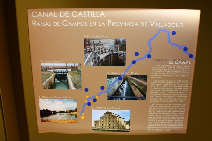 Recorrido del Canal de Castilla