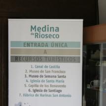Las rutas por el Canal de Castilla parten de Media de Rioseco