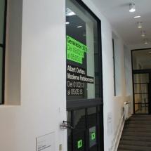 Uno de los pasillos de La Casa Encendida.