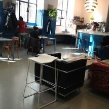 Cafetería de La Casa Encendida.