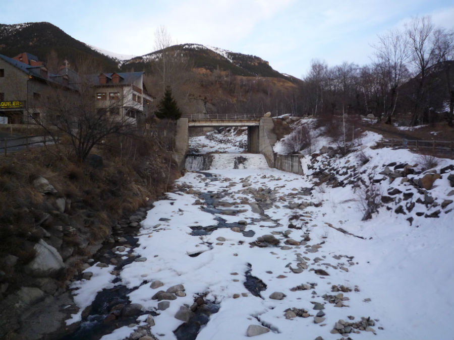 Alrededores de la estación de esquí de Cerler.