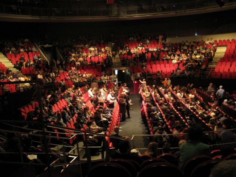 Vista del interior del Teatro Circo Price