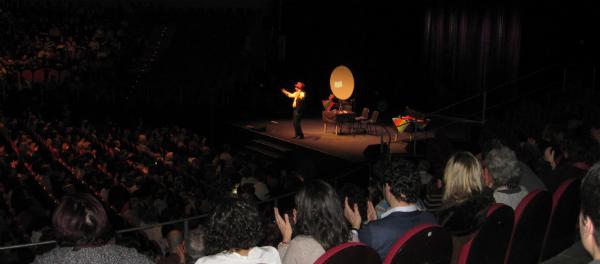 Espectáculo en el Teatro Circo Price