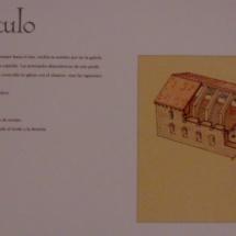 Descripción de la Panda del Capítulo del monasterio de Santa María de Huerta.