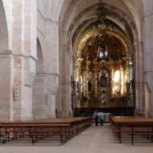 Planta de la iglesia del monasterio de Santa María de Huerta.