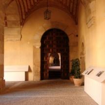 Puerta del Monasterio de Santa María de Huerta.