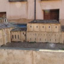 Santa María de Huerta: monasterio y maqueta.