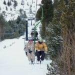 Esquiar con niños en Cerler