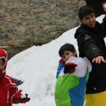El Valle de Arán, con niños
