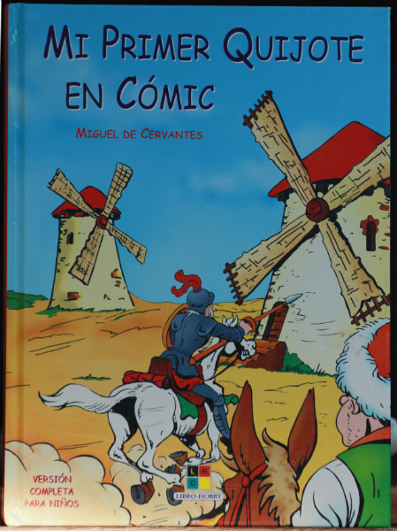 Portada de 'Mi Primer Quijote en Cómic'