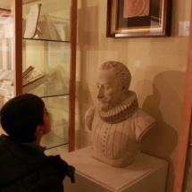 Busto de Cervantes