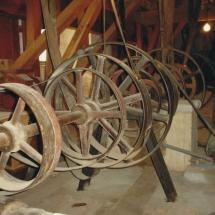 Maquinaria de la antigua Fábrica de Harinas San Antonio, en Valladolid
