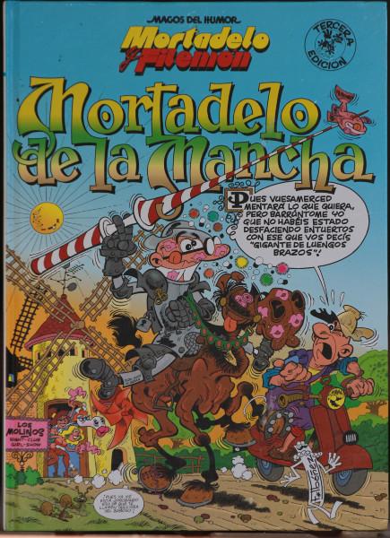 Mortadelo se convierte en Don Quijote