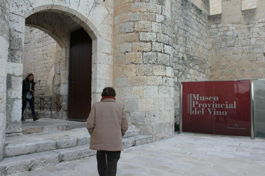 Museo del Vino de Peñafiel: entrada