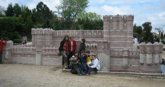 Visitamos con los niños el Parque Mudéjar de Olmedo, en Valladolid