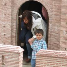 Los niños pueden conocer en este parque el arte mudéjar desde dentro