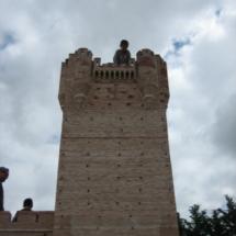 En este Parque los niños pueden subir a las torres de un castillo mudéjarEn este Parque los niños pueden subir a las torres de un castillo mudéjar