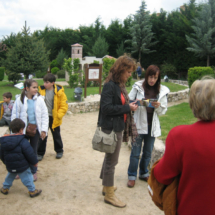 Visitamos, en familia, el Parque Mudéjar de Olmedo