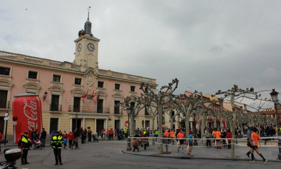 Plaza de cervantes y centro hist rico de alcal de henares for Oficina inem alcala de henares