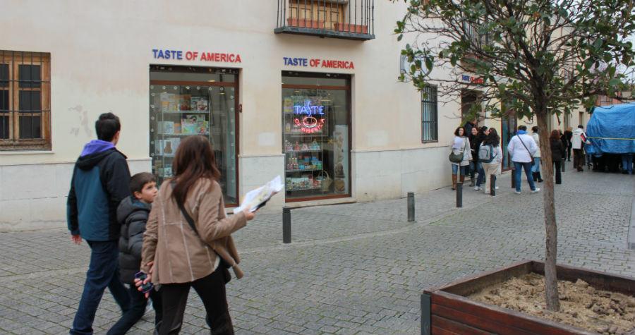 De compras con los niños en 'Taste of America'