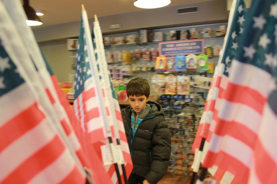 Tienda 'Taste of America' en Madrid
