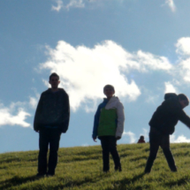 Los niños disfrutan del aire libre en este parque de Vallecas