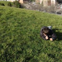 Los niños disfrutan mucho correteando por este parque