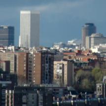 Torre Picasso, desde el Cerro del Tío Pío