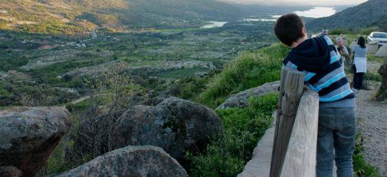 Embalse de Plasencia, El Torno, en el Valle del Jerte