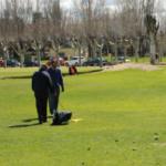 Jugar al golf con niños