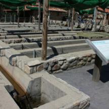 Instalaciones de la piscifactoría de truchas del Valle