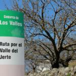 Indicadores de rutas por el Valle del Jerte