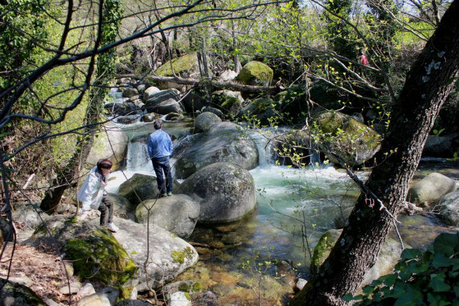 Río Jerte, una excursión con niños en Semana Santa