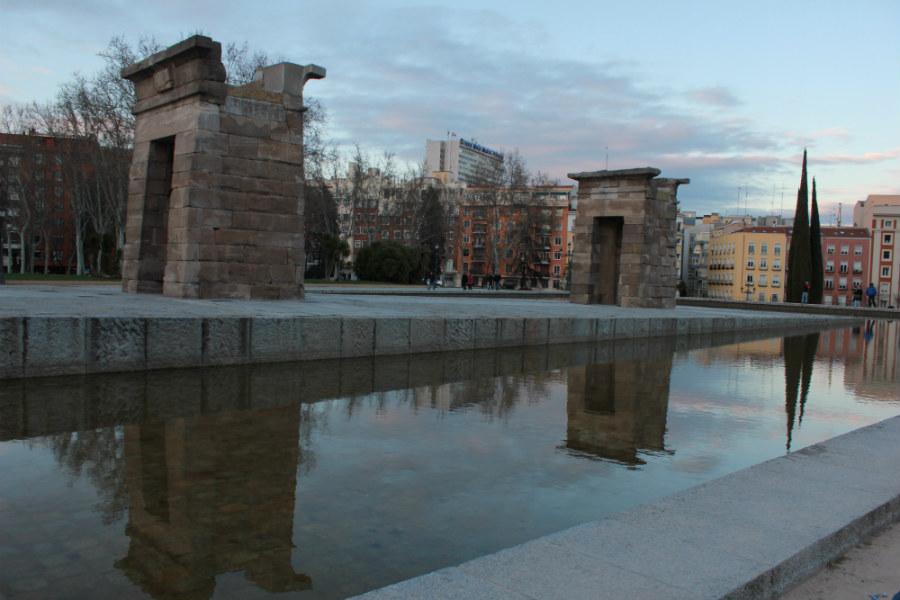 El Templo de Debod llegó a Madrid desde Egipto piedra a piedra