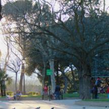 El Parque del Oeste es siempre muy frecuentado por familias