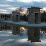 Madrid al atardecer desde el Templo de Debod