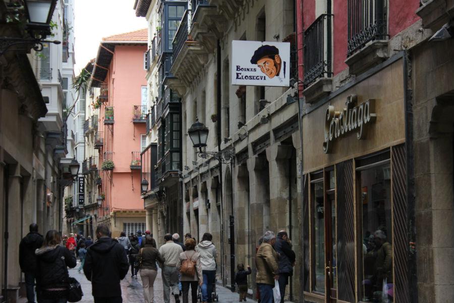 Visitamos los rincones del Casco Viejo de Bilbao