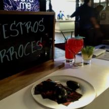 Restaurantes en la antigua plaza de toros de Las Arenas, en Barcelona