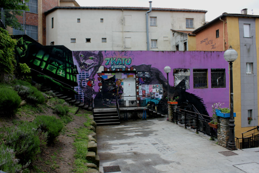 Graffiti de Bilbao