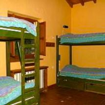 Dormitorio del Campamento Gredos Centre