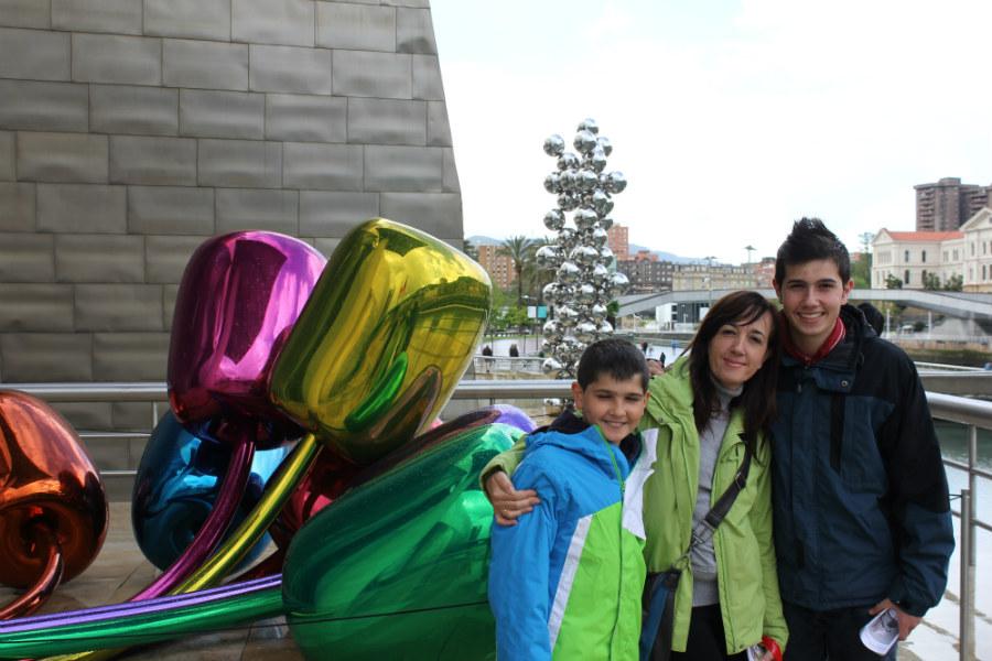El Guggenheim tiene infinidad de atractivos para los niños.