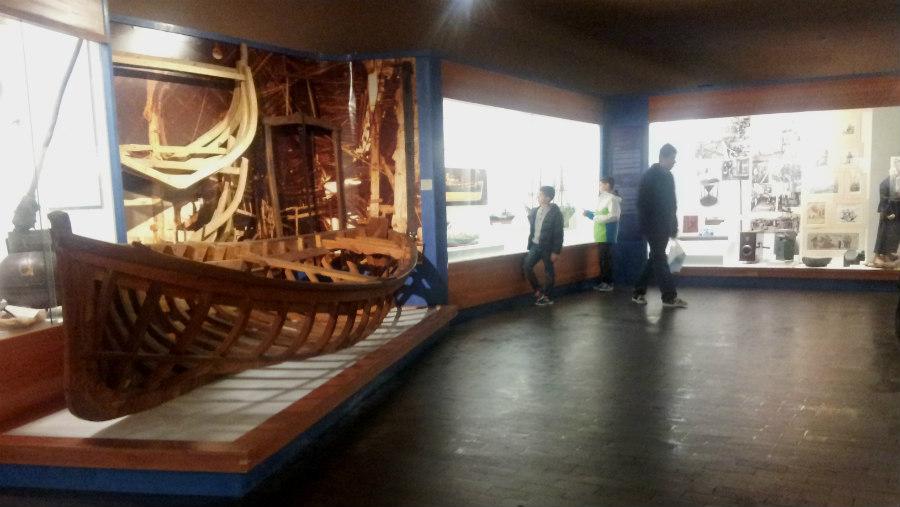En el Museo Vasco se conoce mejor la historia y las costumbres vascas.