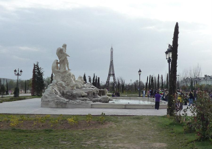 Parque europa torrej n de ardoz los monumentos europeos - Fotos de torrejon de ardoz ...