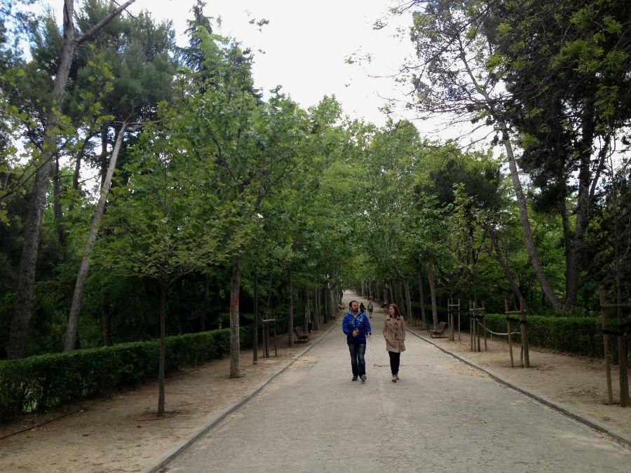 Parque quinta de los molinos en madrid for Parques de barcelona para ninos