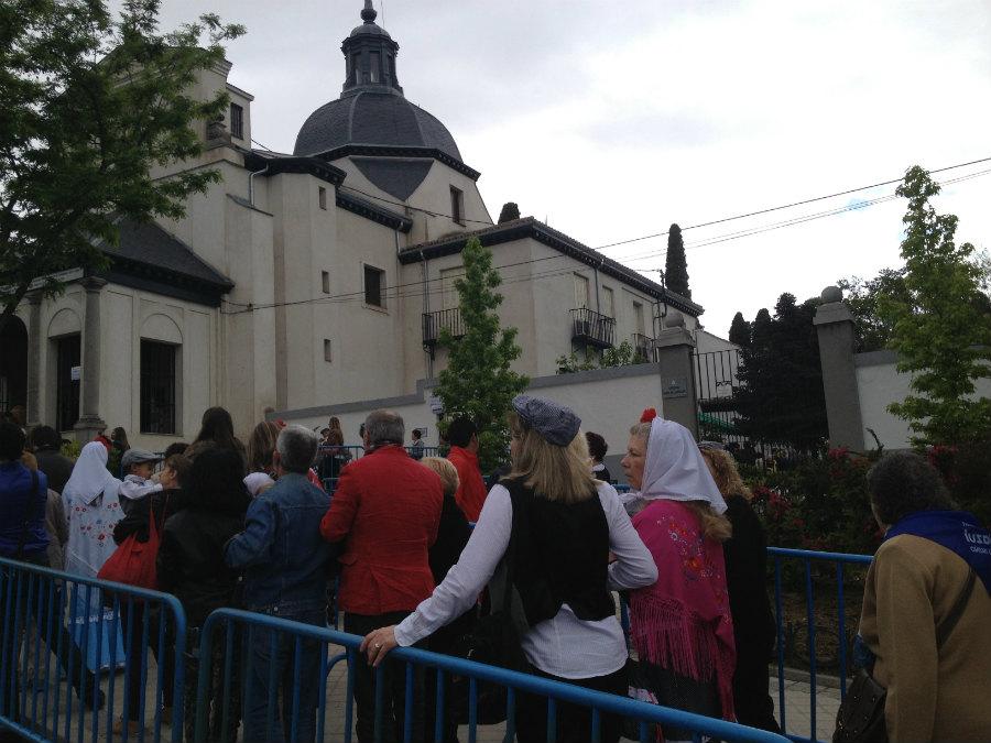 Romería a la ermita de San Isidro, en Madrid