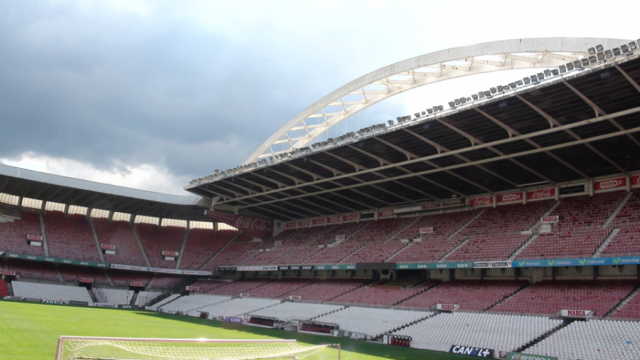 El estadio del Athletic Club de Bilbao, San Mamés, es conocido como 'La Catedral'