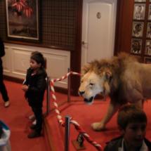 Un león (disecado) en el San Mamés da nombre a los aficionados del Athletic de Bilbao