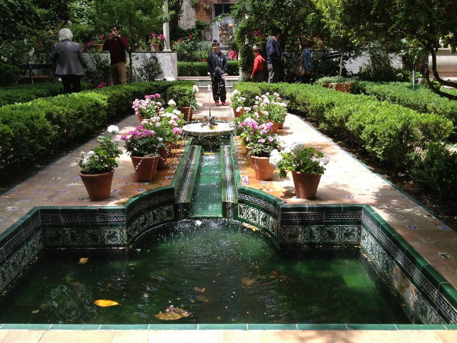 Jardín de la casa Museo de Sorolla, en Madrid