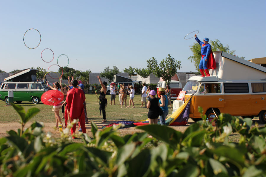 10º encuentro Furgo VW para familias con niños